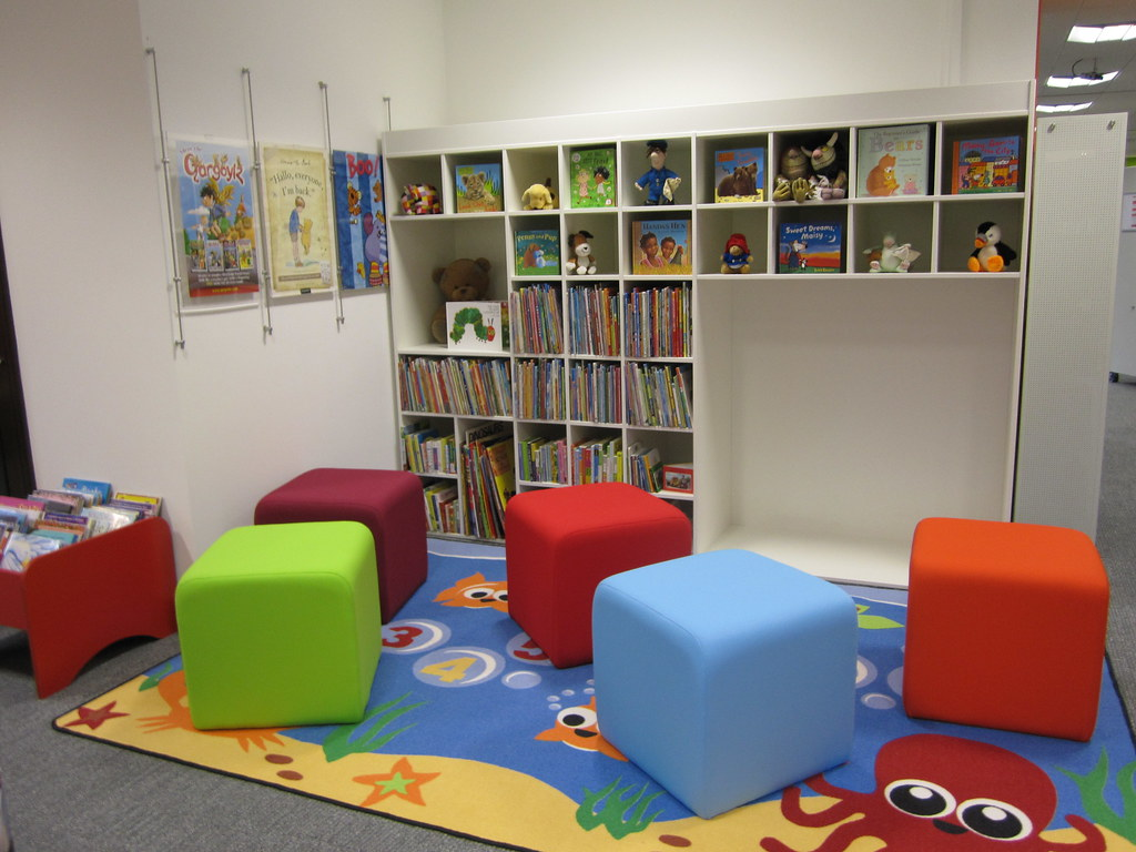 Barnstaple Children 39 S Library New Furniture Barnstaple Chi Flickr