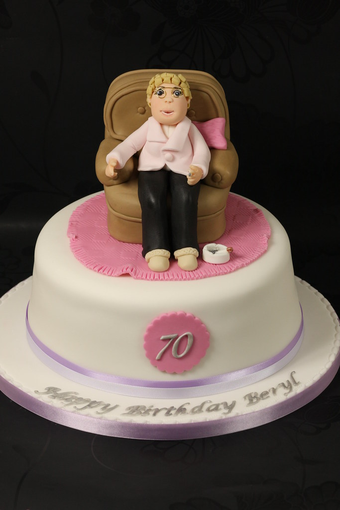 Beryls 70th Birthday Cake