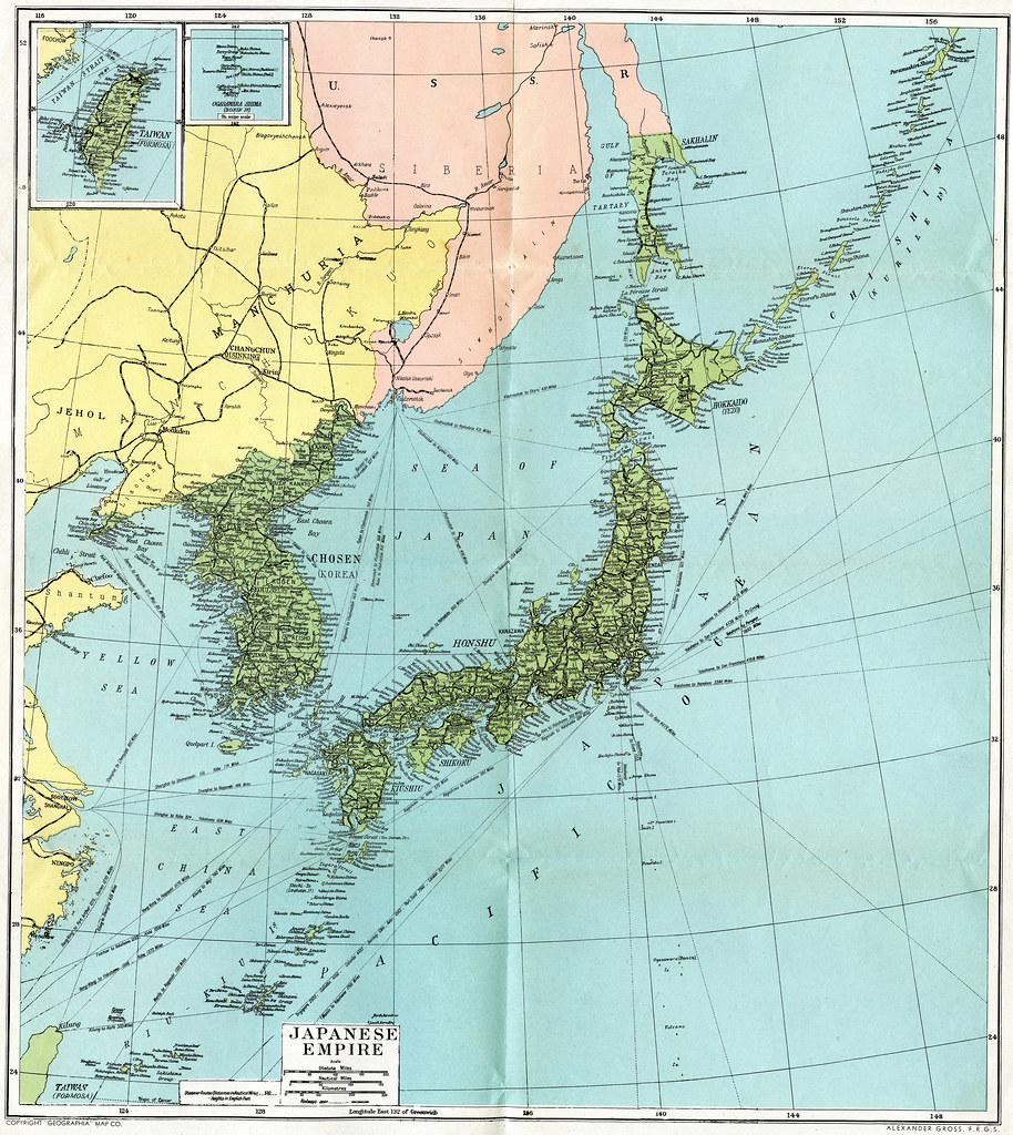 Map Of Japan Map Created For The US Consumer Market Flickr - Japan map 1942