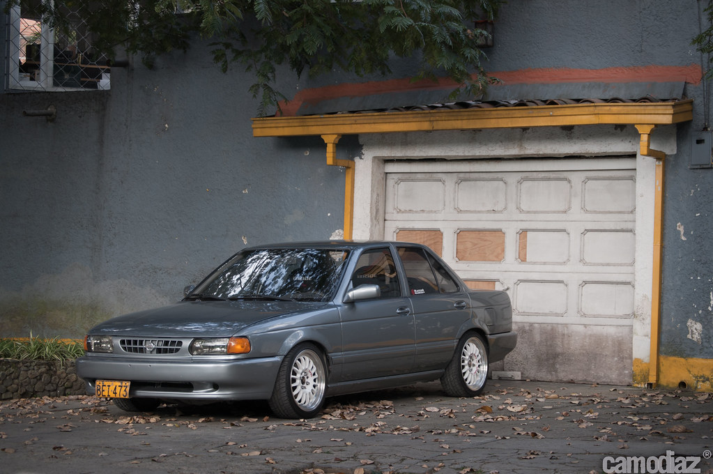 My Nissan Sentra B13 Camo Diaz Flickr
