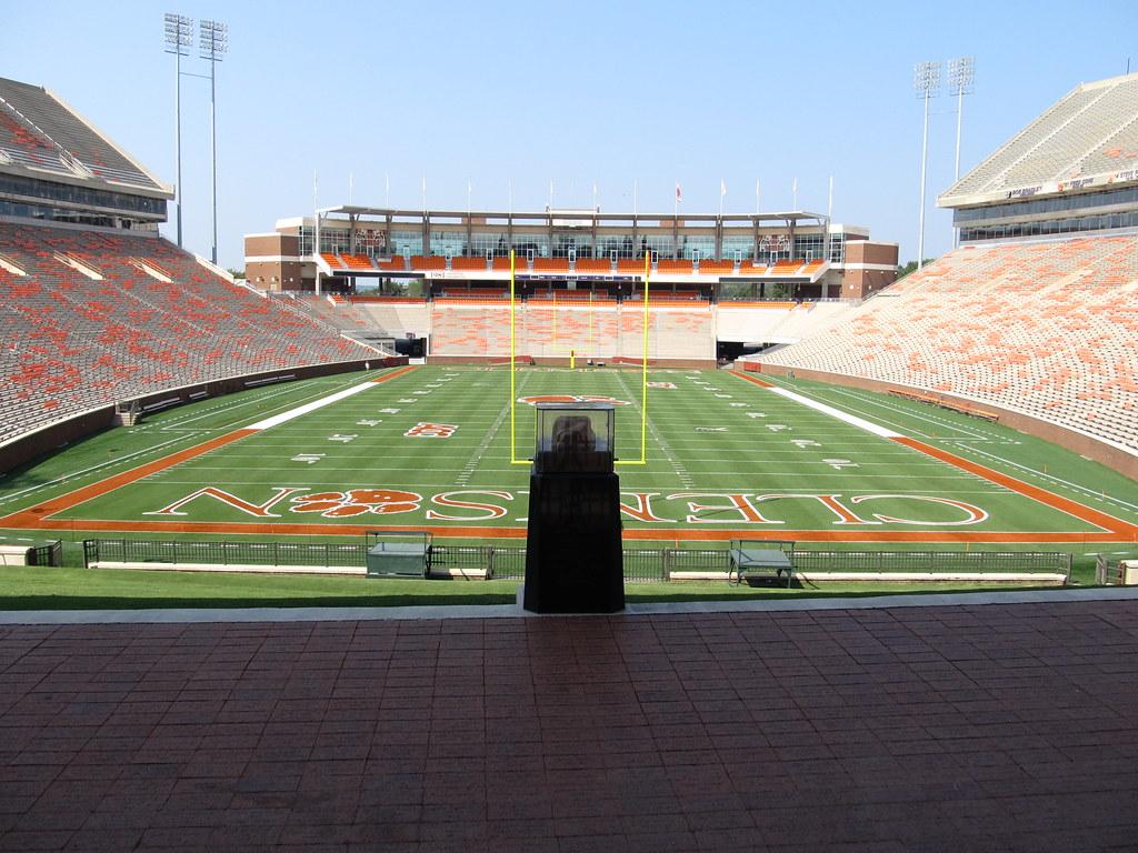Howard S Rock Memorial Stadium Clemson University Tigers