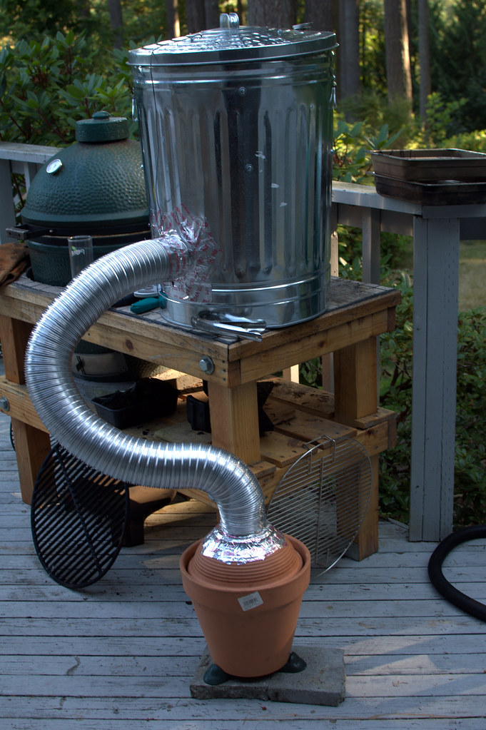 how to build a wood cold smoker