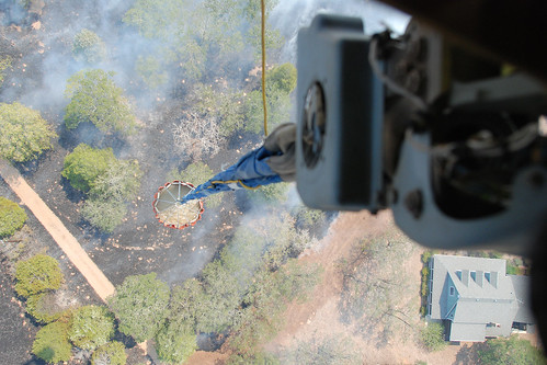 Texas National Guard fight wildfire | by The National Guard