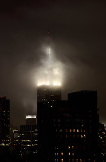 Empire State Building in the clouds | by ccho