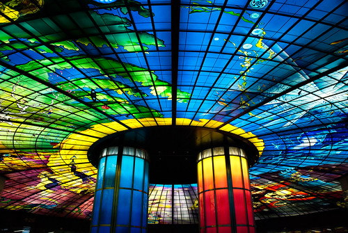 Kaohsiung Metro : Dome of Light | by hiroshiken