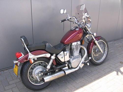 Suzuki Savage Windshield