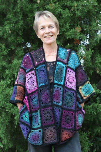 Granny Square Kimono IMG_0805 - miracle design - Flickr