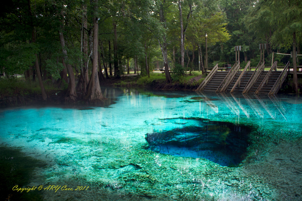 Devils Eye Ginnie Springs Fl Near High Springs