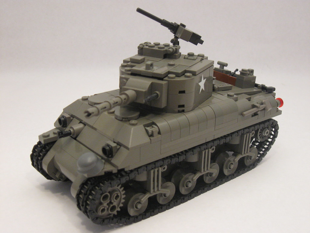 Old Fashioned Army Tanks