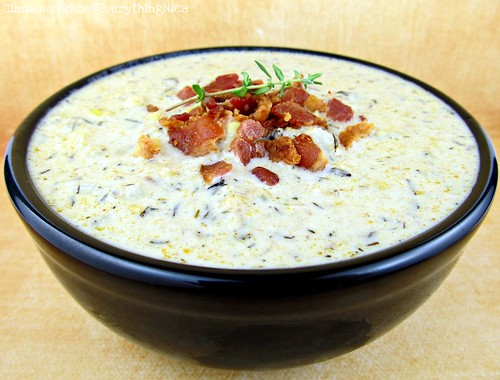 Fresh Corn and Bacon Chowder | by CinnamonKitchn
