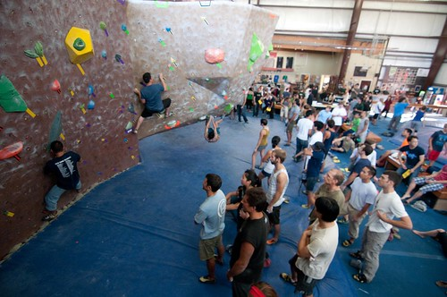 In spite of the numbers, there was lots of climbing to go around | by Planet Granite