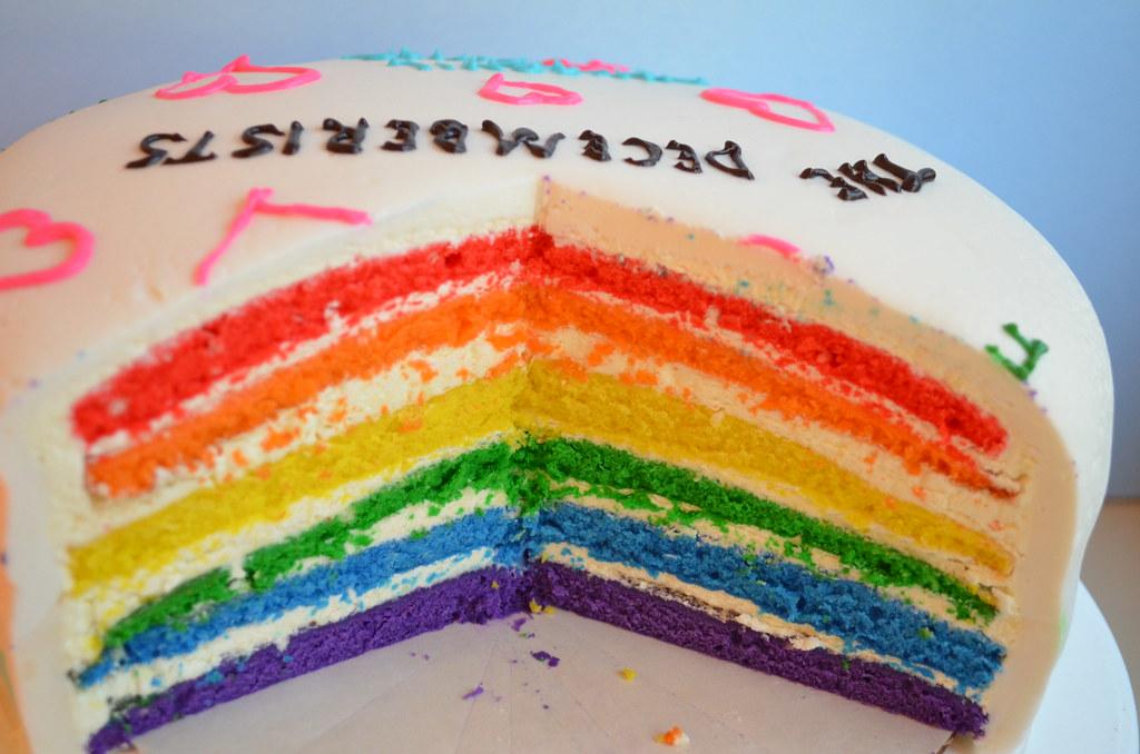 Layer Cake Rainbow