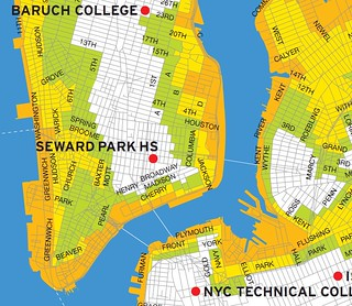 Downtown Manhattan Storm Surge Map | by GammaBlog