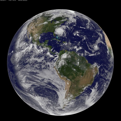 Full Disk Image of Earth Captured August 26, 2011 | by NASA Goddard Photo and Video