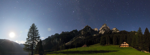 Moonrise in the Alps | by herbraab