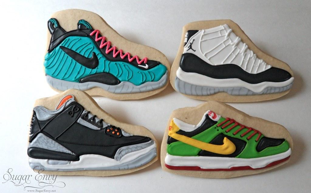 Tennis Shoe Cupcakes
