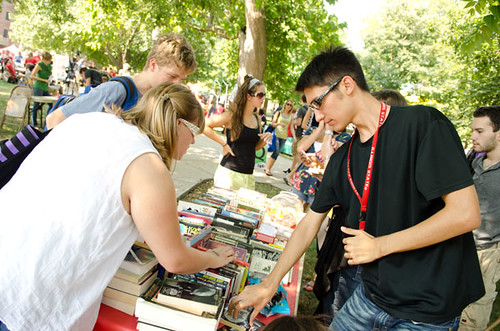 Students at Festival ISU | by Illinois State University