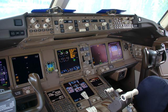 Boeing 777 British Airways Interior