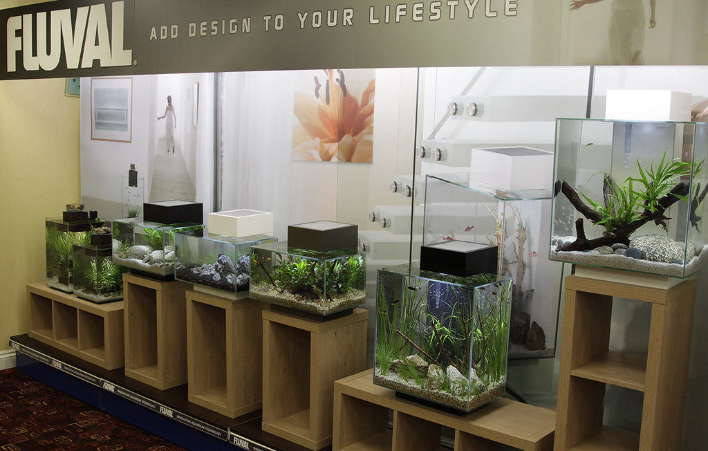 ... Entire Fluval Chi And Edge Range | By George Farmer