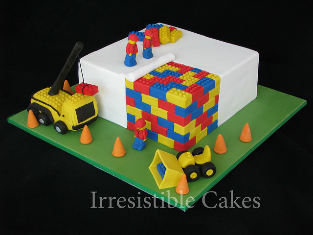 Construction Lego Cake Flickr - Photo Sharing!
