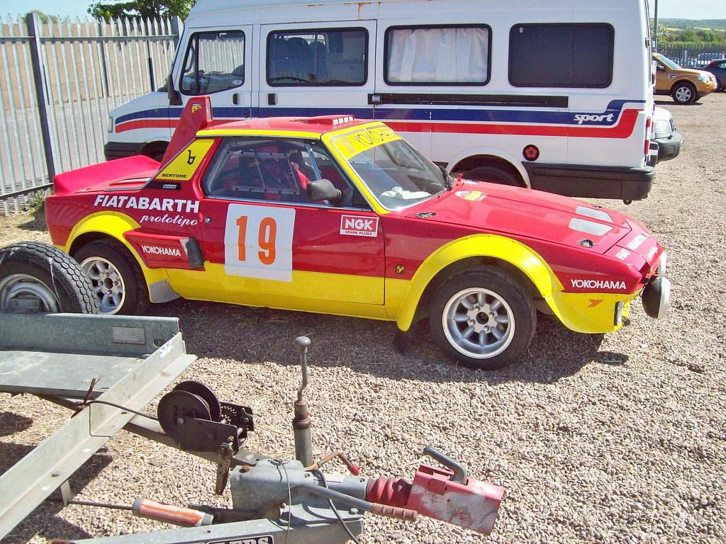 86 Fiat X1 9 Prototipo 2000 Abarth 1973 Fiat X 9
