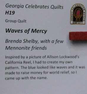 """Waves of Mercy"" by Brenda Shelby - Info 