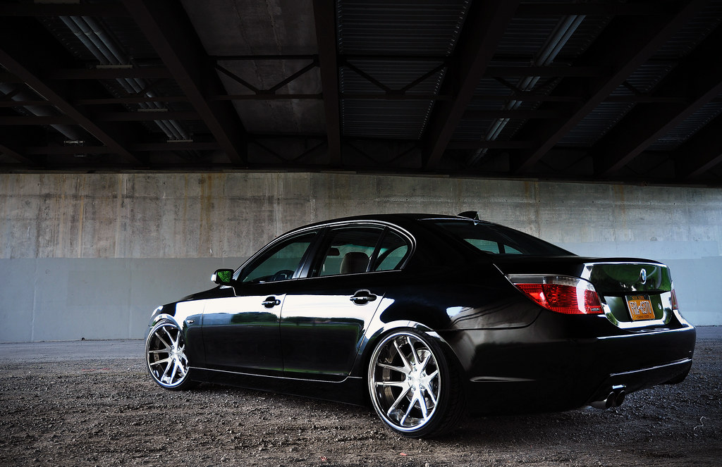Bmw M Series >> BRIDGE3 | E60 545i - 20x9.5 and 20x11 Rotiform SNA's, M bump… | Flickr