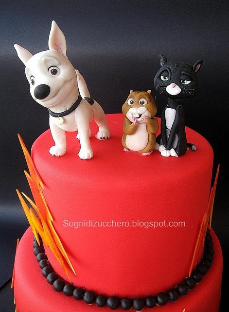 Bolt Birthday Cake
