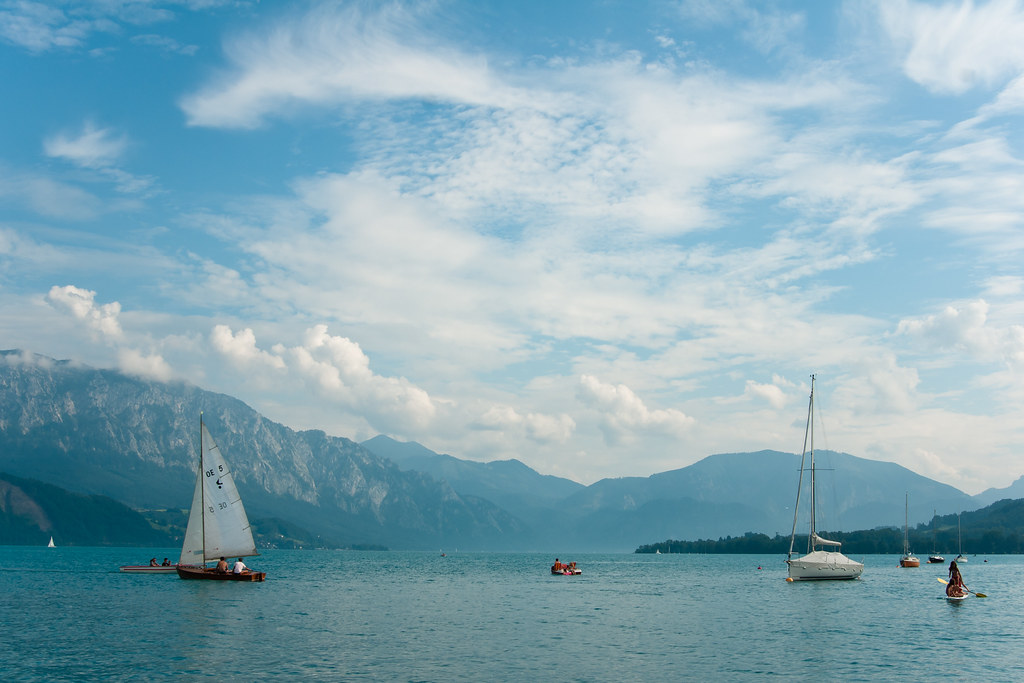 Attersee and surroundings