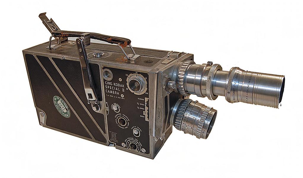 Kodak Cine Special Ii Movie Camera Description Physical