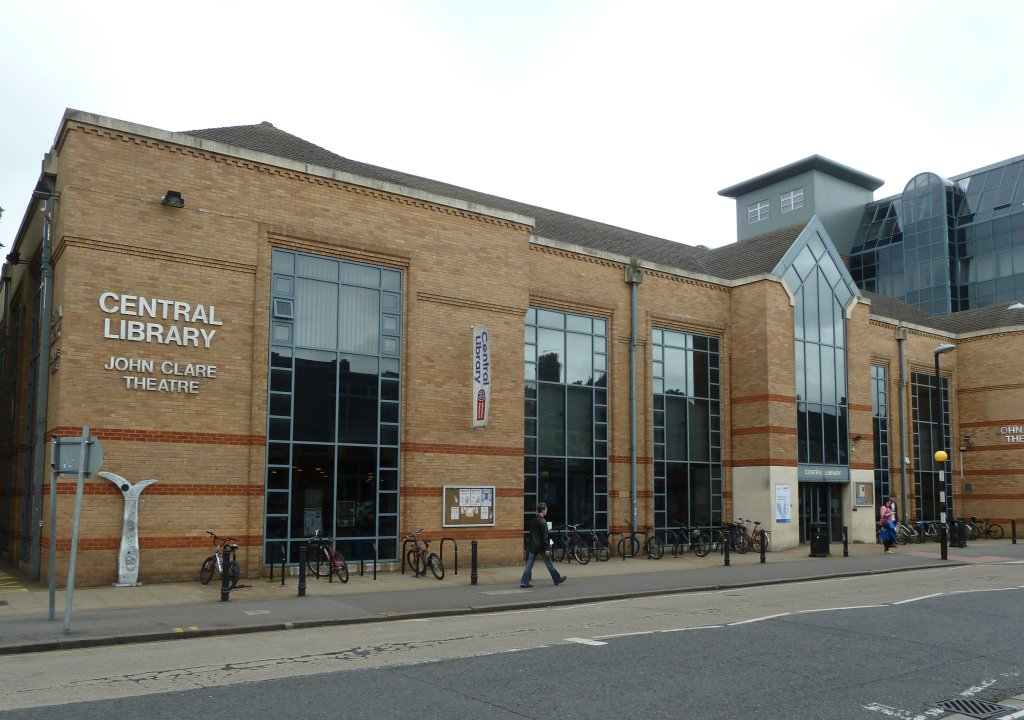 Peterborough Central Library Built Next Door To The Old