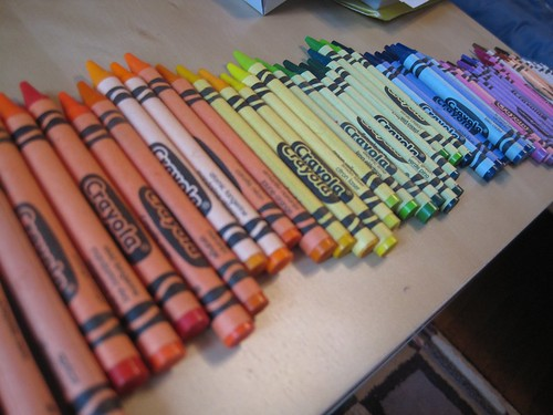 Aug14-Crayons2 | by crazyknittinglady