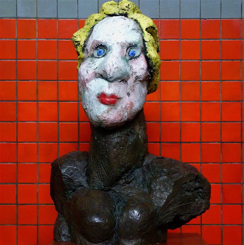 Sculpture by markus lüpertz akbar sim flickr