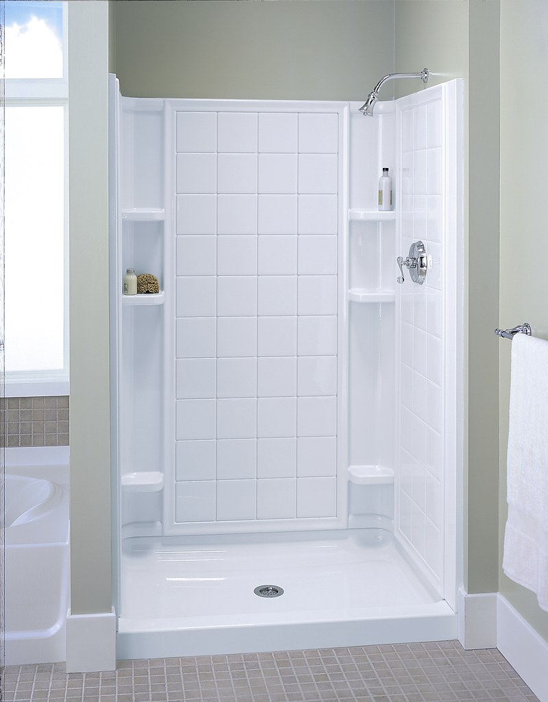 Ensemble Tile Shower | This Ensemble shower features the cla… | Flickr