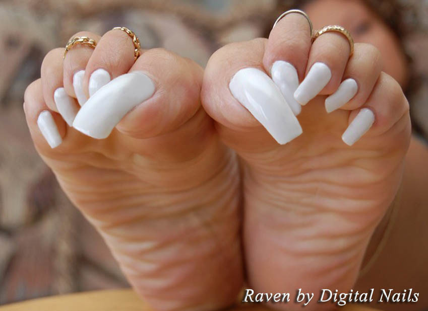 Raven_DN | Long toenails by Digital Nails | Alex9_9 | Flickr