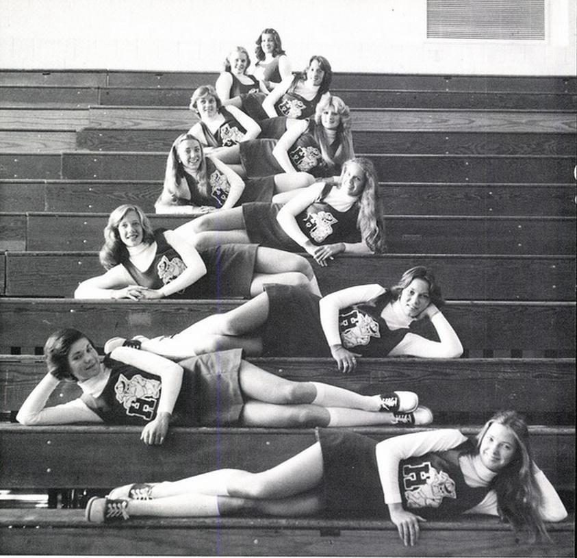 Hamburg new york high school 1977 cheerleaders texasretrocheer2
