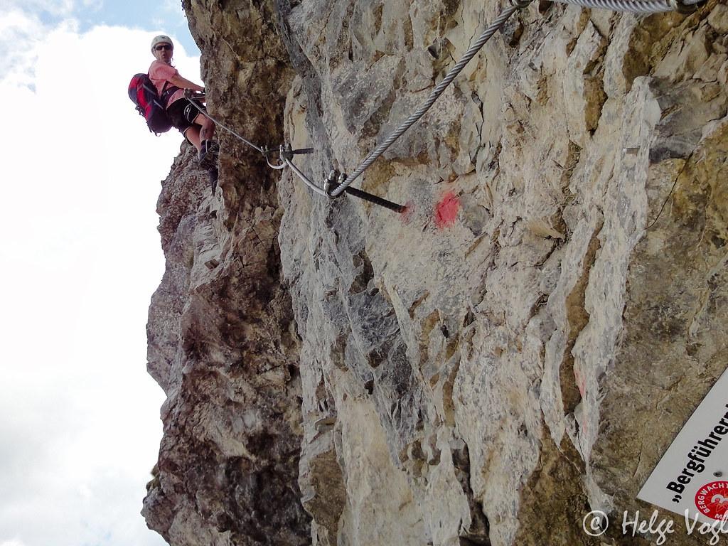 Klettersteig Iseler : Bergführerplatte salewa klettersteig am iseler seit juli u flickr