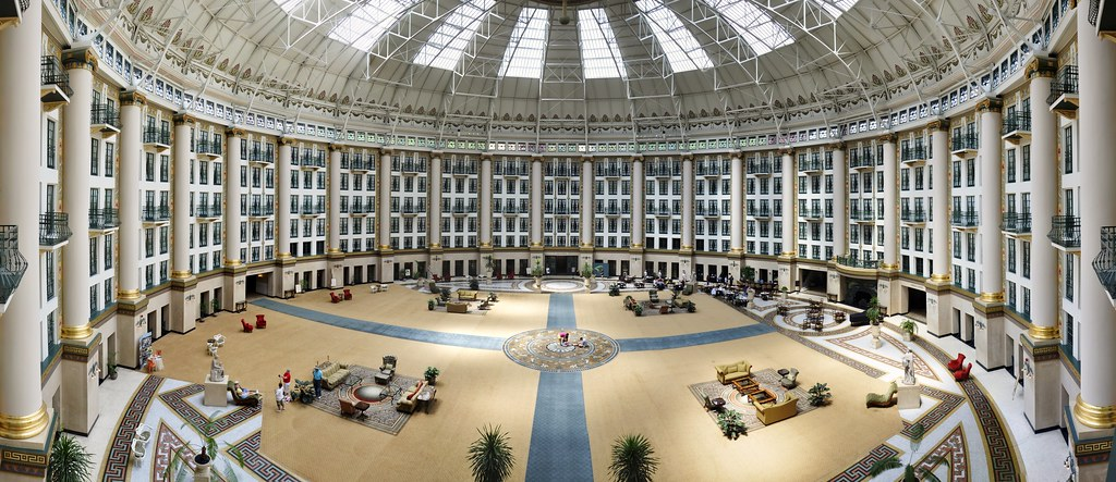 West Baden Springs Hotel Panoramic Stitch My Latest