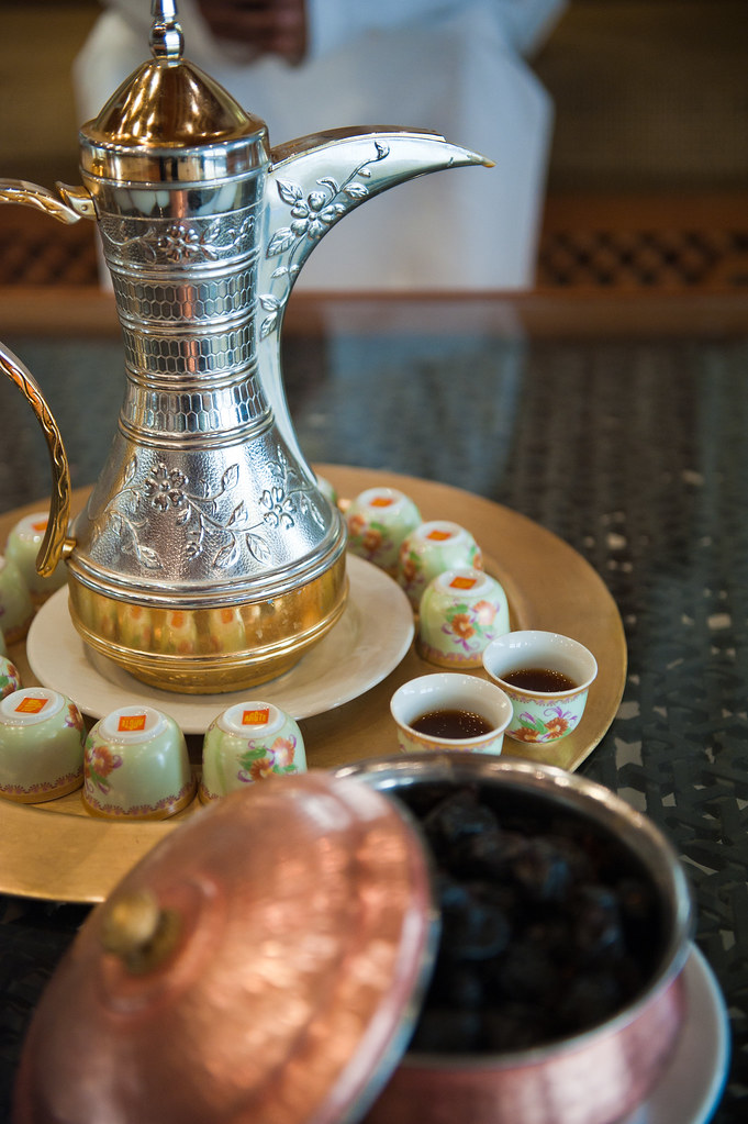 omani coffee hospitality the coffee with dates is the