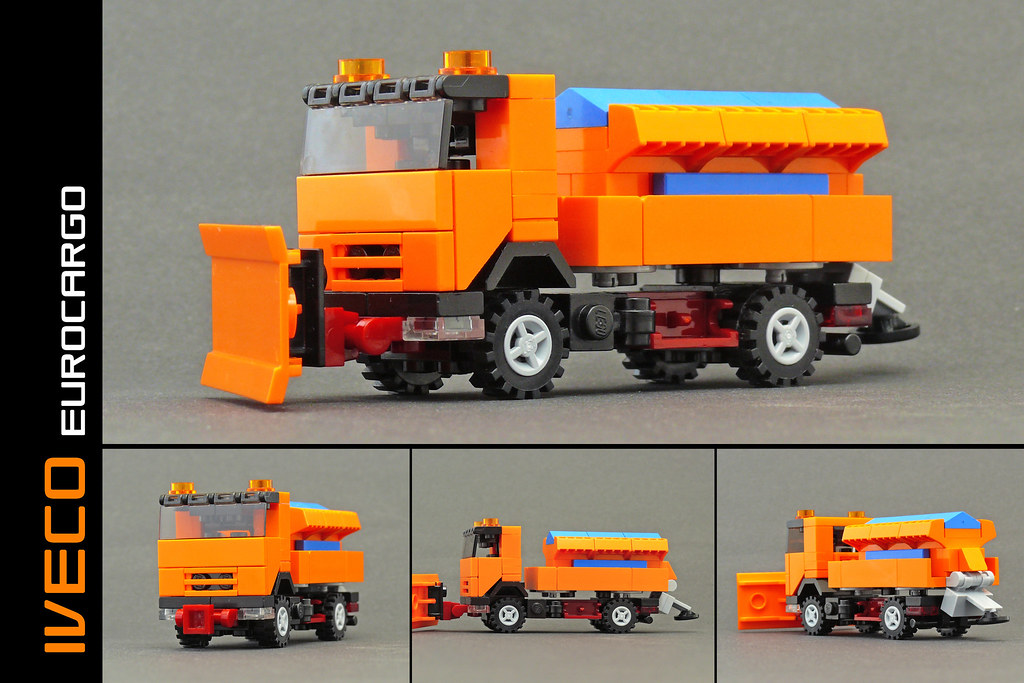 Build A Truck >> Iveco Eurocargo gritter lorry | With this Iveco I finished ...