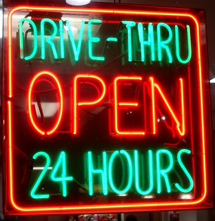 Drive-thru OPEN 24 hours | by mag3737