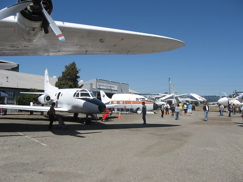 North American T-39 Saberliner, other treasures at Oakland ...