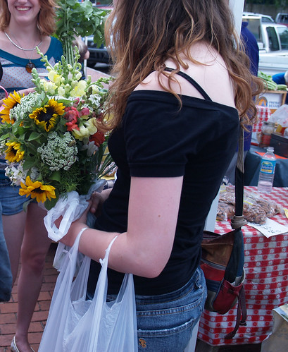 Freshly Picked Flowers From the Downtown Market | by Visit Gainesville