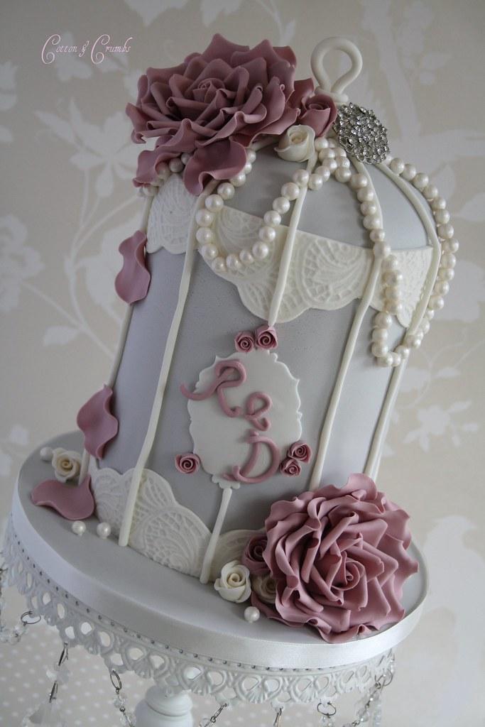 Birdcage Wedding Cake Tutorial