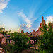 Big Thunder Mountain Railroad Sunset