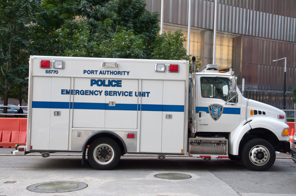 Papd Emergency Response Vehicle A Port Authority