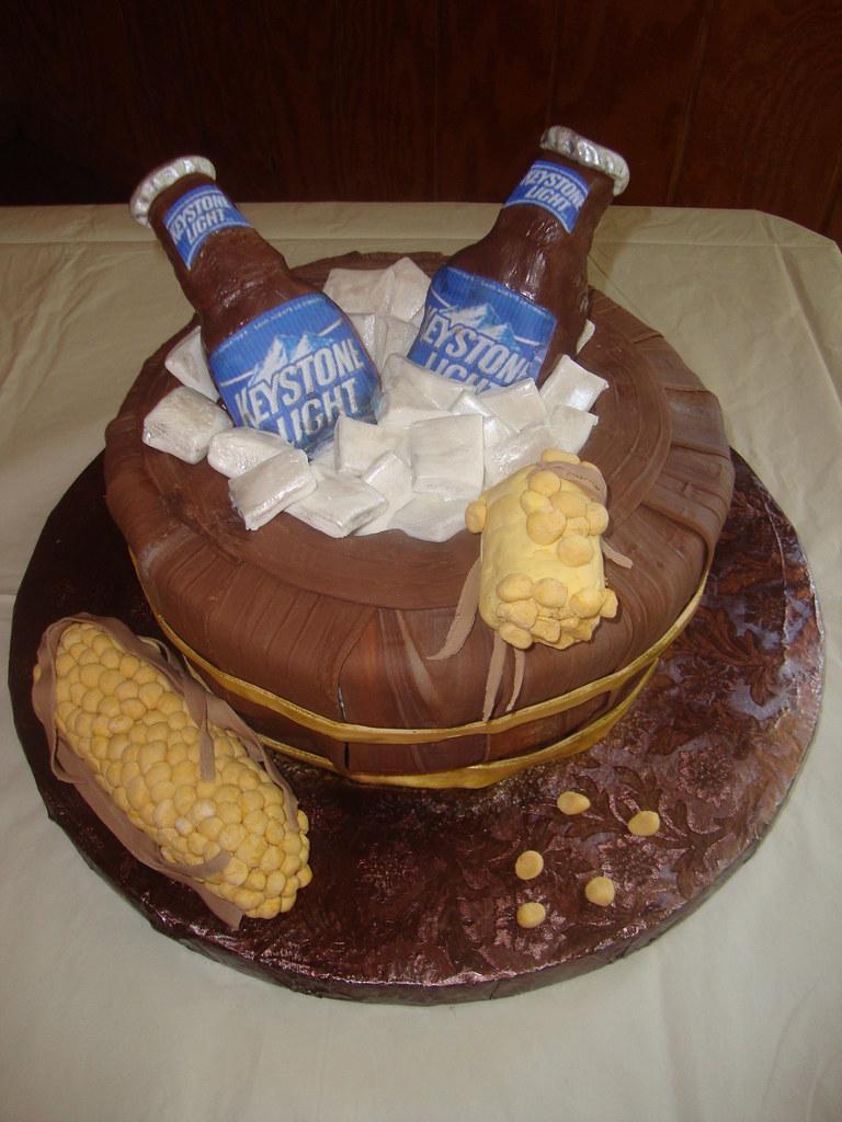 Keystone Light Cake Grooms Cake Sweet Creations Flickr