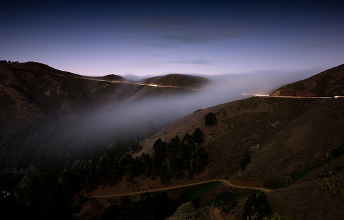 Nightfall at the Marin Headlands | by bjolly927