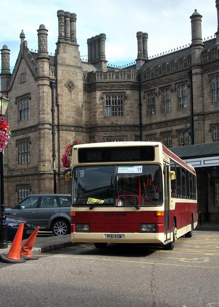 Shropshire Bus And Coach Of Wem P151ksm Mercedes Benz 0405