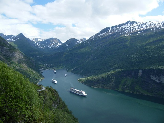 Geiranger Norway  city photos gallery : Geiranger, Norway | Flickr Photo Sharing!